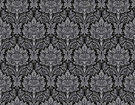 Seamless damask ancient pattern. Big XXL size Stock Photo - 4375962