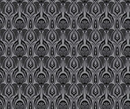 Seamless victorian ancient pattern. Big XXL size Stock Photo - 4375955