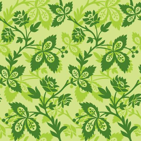 Seamless rococo pattern Stock Vector - 5550876