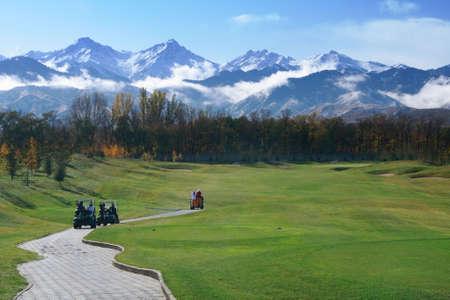 fairway: Golf course