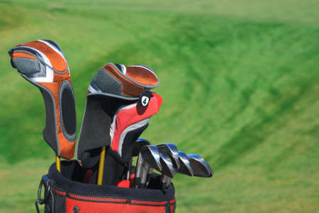 Golf bag photo