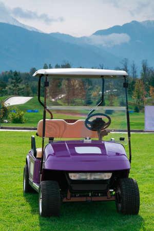 golf cart: Golf cart
