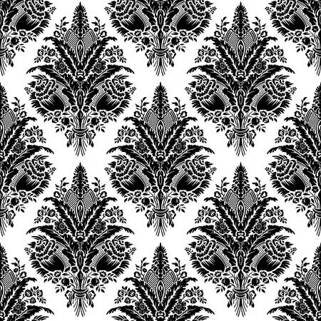 Seamless damask pattern Stock Vector - 9393348