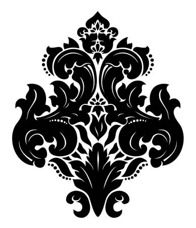 Damask pattern Stock Vector - 15415350