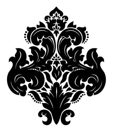 damast: Damast-Muster Illustration