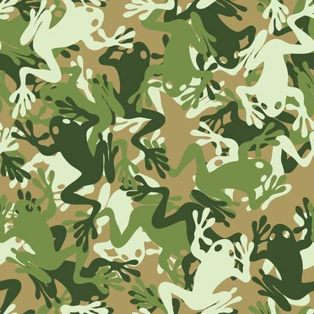 nato: Seamless skull camouflage pattern Illustration