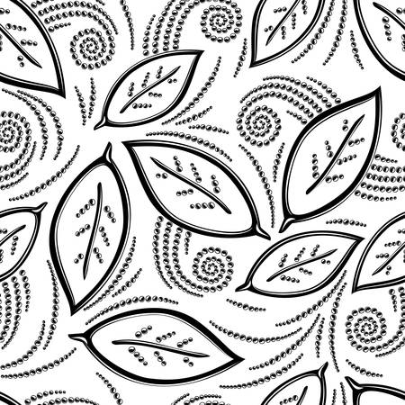 Floral seamless pattern Stock Vector - 16829873