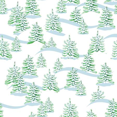 mountainside: Vector  Seamless background  Mountainside  Illustration