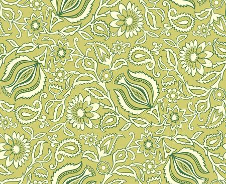 Vector  Seamless floral background Stock Vector - 16829868