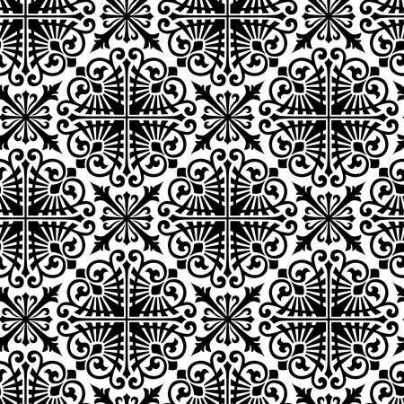Vector  Seamless damask pattern Stock Vector - 16829833