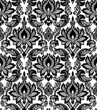 Vector  Seamless damask pattern Stock Vector - 16829900