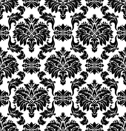 Vector  Seamless damask pattern Stock Vector - 16829871