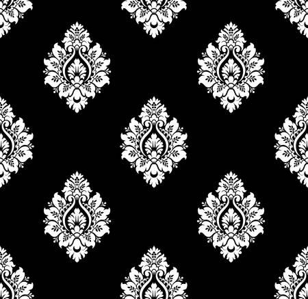 damask: Vector  Seamless ancient damask pattern