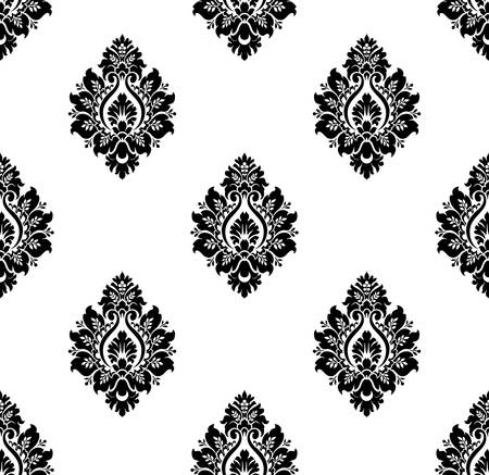 Vector  Seamless ancient damask pattern Vector