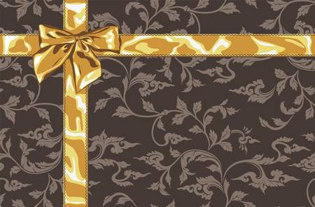 gold brown: Gift card