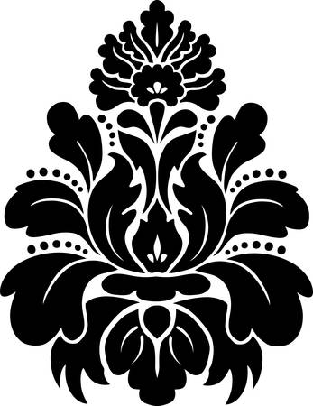 Damask pattern  Vector  Stock Vector - 23295070