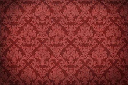 Damask background. Old wall. Glamour and fashion. Empty space for your design. Stock Photo