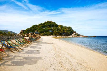 nang: Thailand, Koh Nang Yuan beach and resort Stock Photo