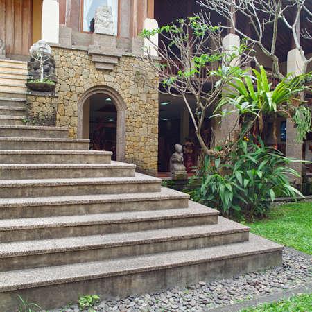 Balinese backyard, gardening design