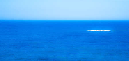 pictorial: Pictorial photography of the sea with different shades of blue.