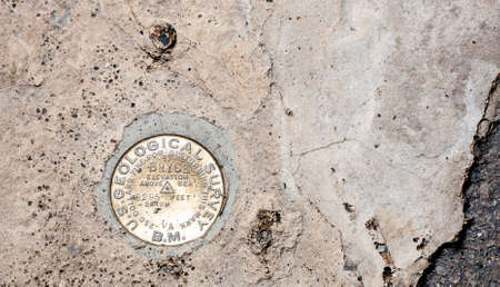 geological formation: The Bryce Point Geological Bench Mark in Bryce Canyon National Park, Utah