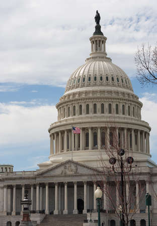 capitol building: United States Capitol Building Dome Stock Photo