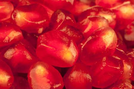 Macro Image of Pomegranate Arils