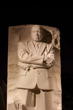 Stone of Hope Sculpture  the Martin Luther King Jr. Memorial in Washington D.C.