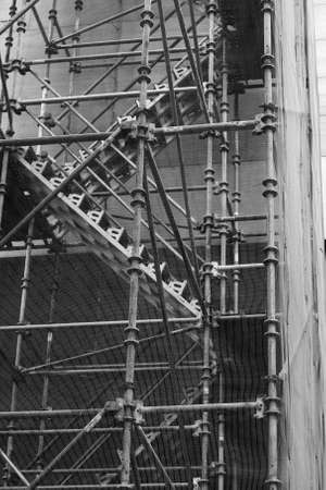 Scaffolding Stairway
