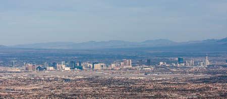 The Las Vegas Strip in Morning Light Stock fotó