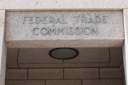 Federal Trade Commission Doorway Sign