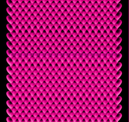 vermilion: Seamless colorful hearts pattern, Valentine's day or birthday concept