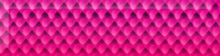 crimson: Crimson background with row of hearts. Birthday concept