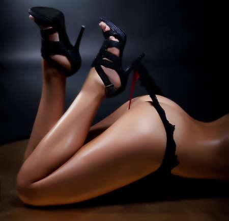 Beautiful woman feet Stock Photo - 12432864