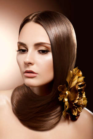 Health, Beauty,  Haircare, Cosmetics and Make-up  Beautiful Fashion Hairstyle photo