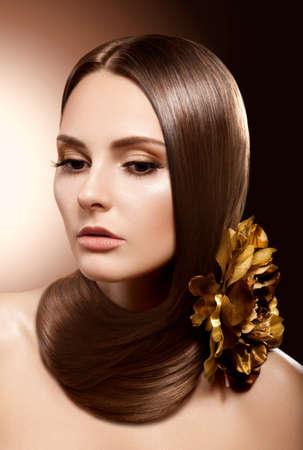 Health, Beauty,  Haircare, Cosmetics and Make-up  Beautiful Fashion Hairstyle Stock Photo - 16673276