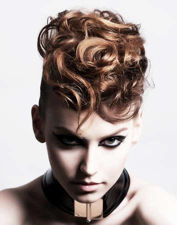 Cara Subcultura de Glamorous Expresión Brunette de moda
