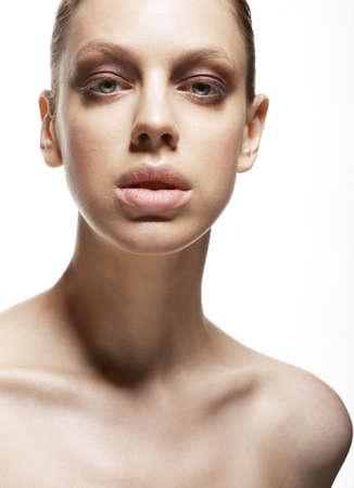 magnetismus: Charm Faszination Luxuri�se Gesicht der jungen Frau Magnetismus