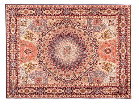 oriental rug: Asian Carpet Texture. Classic Arabic Pattern Stock Photo