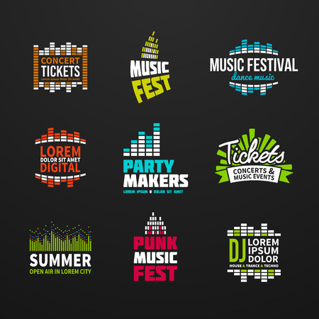 electronica musica: Segundo m�sica elementos ecualizador emblema gama separados