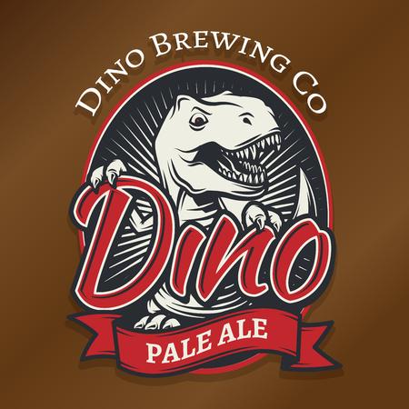 T-rex icon Vector Illustration