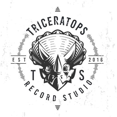triceratops: Dinosaur icon