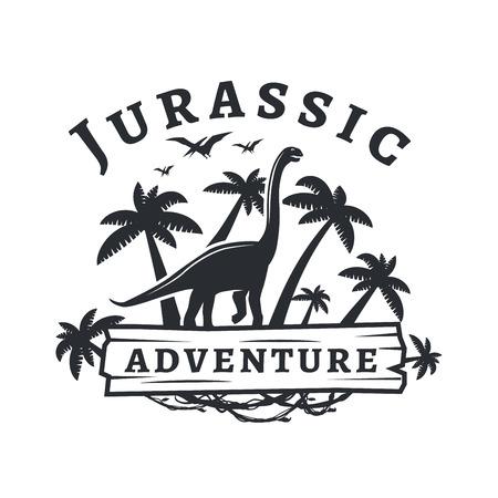 dinosaur concept. Illustration