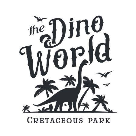 park icon: Dinosaur park icon