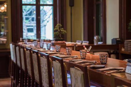 Dining Bar Stock Photo