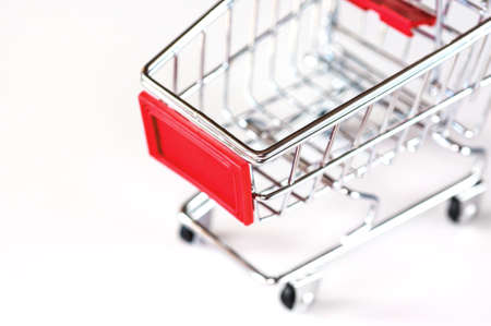 A shopping cart, symbolic photo for purchasing power and consumption