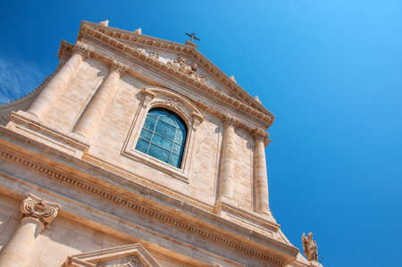 Church of St. Mary of Sorrows. Locorotondo. Puglia. Italy Banque d'images