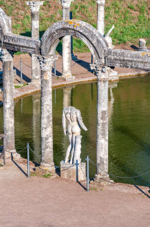 meant to be: The Hadrians Villa (Villa Adriana in Italian) is a large Roman archaeological complex at Tivoli, Italy. It was meant to be a retreat from Rome for the Emperor in the early 2nd century.