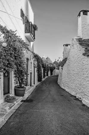 Trulli in the southern Italian town of Alberobello, Apulia, Italy