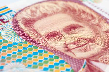 Old 1000 lire. Italian banknote Stock Photo - 51886792